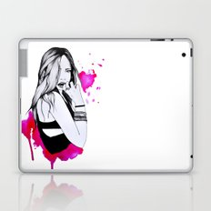 Raw girl Laptop & iPad Skin