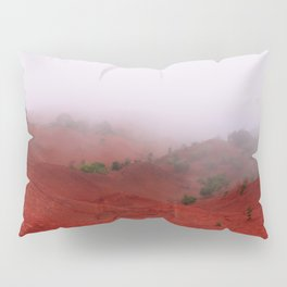 Red Land Pillow Sham