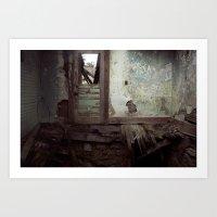 places forgotten. Art Print