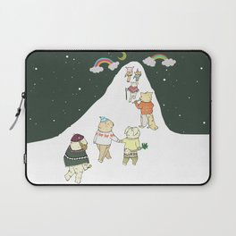 up to the mountain Laptop Sleeve