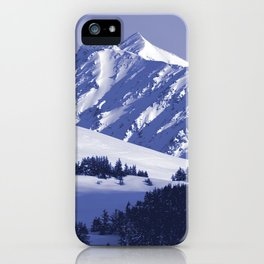 Back-Country Skiing - 8 iPhone Case