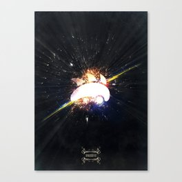 Sonik is Back (Explosion) Canvas Print