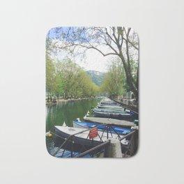 Annecy Canal Bath Mat