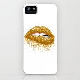 Sexy lips iPhone Case