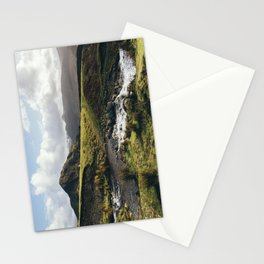 Cinderdale Beck flowing below Whiteless Pike towards Crummock Water. Cumbria, UK. Stationery Cards