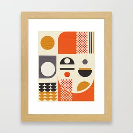 Mid-century no1 Framed Art Print
