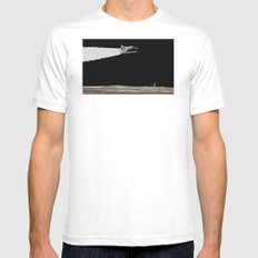 Radio Controlled MEDIUM White Mens Fitted Tee