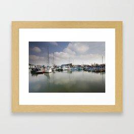 Bristol Harbourside Framed Art Print