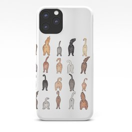 Cat butts iPhone Case