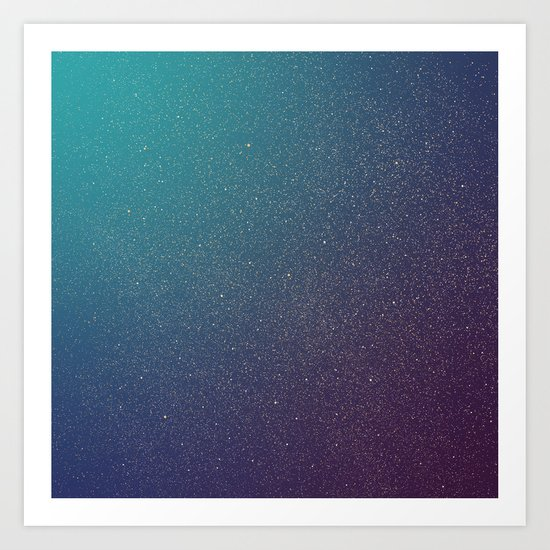 Space 01 Art Print