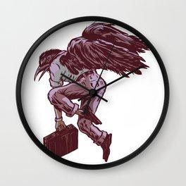 Flying North  Wall Clock