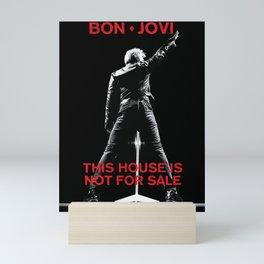 bon jovi this house not for sale tour 2019 putro Mini Art Print
