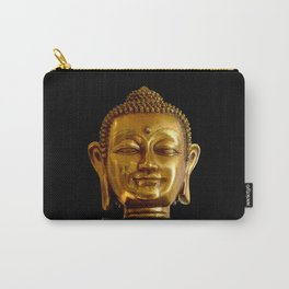 Golden Buddha by Lika Ramati Carry-All Pouch