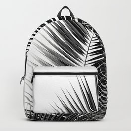 Black Palm Leaves Dream - Cali Summer Vibes #1 #tropical #decor #art #society6 Backpack