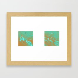 """my alpha , my omega"" Framed Art Print"