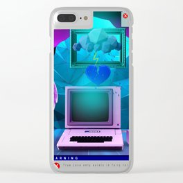 Broken Heart Clear iPhone Case