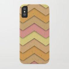 Summer Day Chevron iPhone X Slim Case