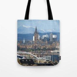 Glasgow University and Ben Lomond Tote Bag