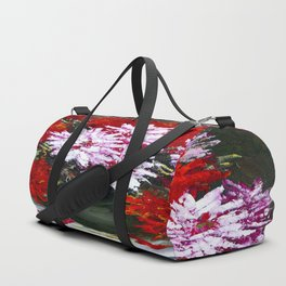 Holiday chrysanthemums Duffle Bag