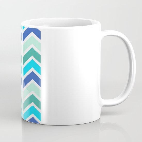 SPRING CHEVRON 2 Coffee Mug