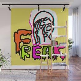 Freak Girl Wall Mural