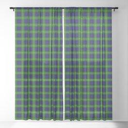 Gordon Tartan Plaid Sheer Curtain