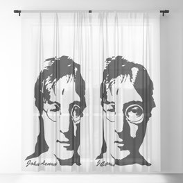 MUSIC GIFTS, CHRISTMAS GIFTS,GIFT WRAPPED FOR ALL MUSIC LOVERS Sheer Curtain