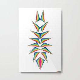 Delta Diamond Metal Print
