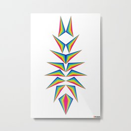 Delta Diamond Metal Print