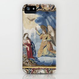 Biblical Tapestry iPhone Case