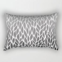 Grey Ombre Rectangular Pillow