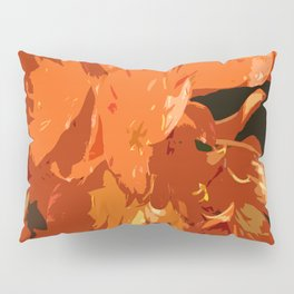 Orange Bush Lily Pillow Sham