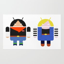 Androids 17 & 18 Rug