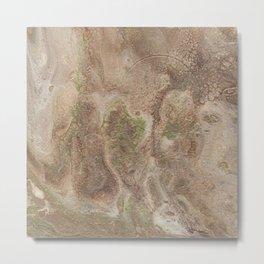 Acrylic Flow #0303 - Cafe Condescension Metal Print
