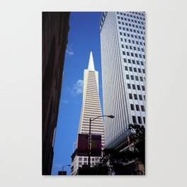 San Francisco Towers 2007 Canvas Print