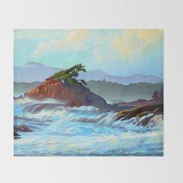 Wild West Coast Throw Blanket