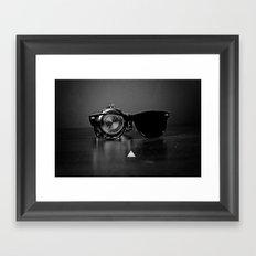 Time Frame Framed Art Print