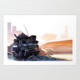 Shade Giver Art Print