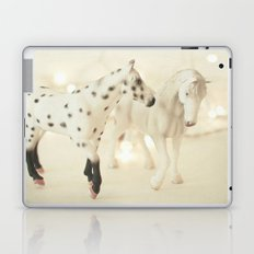 White Horses Laptop & iPad Skin