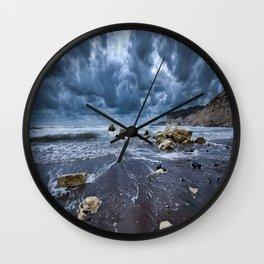 DARK CLOUDS Wall Clock