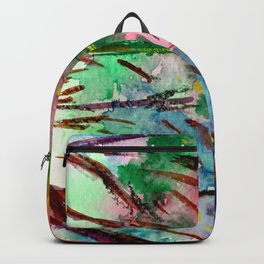 Night in the park Backpack