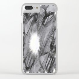 Reflecting Knowledge Clear iPhone Case