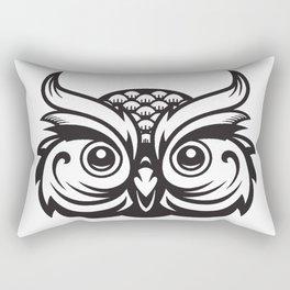 Atwell White Rectangular Pillow