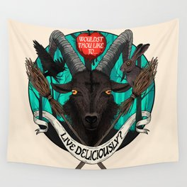 Black Phillip (The Witch) Wall Tapestry
