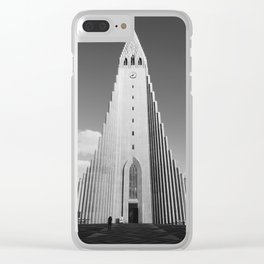 Hallgrímskirkja Clear iPhone Case