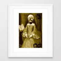 jenny liz rome Framed Art Prints featuring LIZ by Kathead Tarot/David Rivera