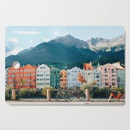 Crayola Houses | Innsbruck, Austria Cutting Board