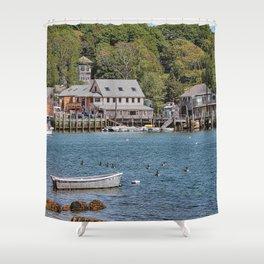 Quissett Harbor Falmouth Cape Cod Shower Curtain