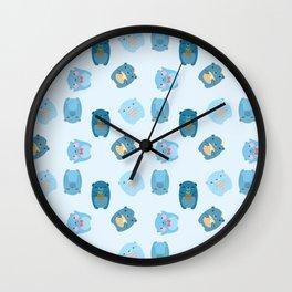 Kuma Critters Wall Clock