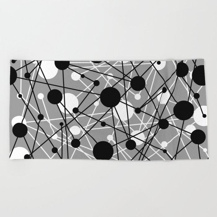 Molecular Madness Beach Towel